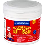 Boudreaux's Butt Paste Maximum Strength Diaper Rash Ointment, 14 oz Jar