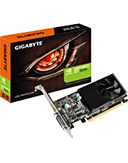 Gigabyte NVIDIA GeForce GT 1030 Low Profile 2G GDDR5 64 Bit Memory PCI Express Graphics Card - Black