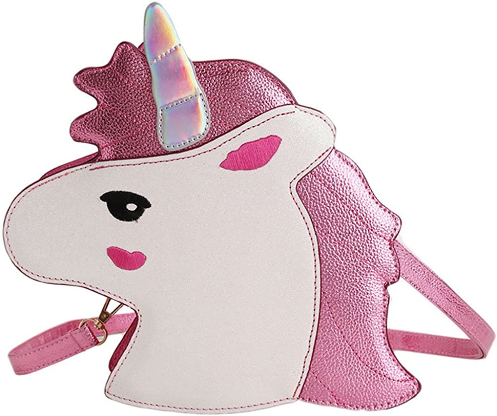 Women's Unicorn PU Shoulder...