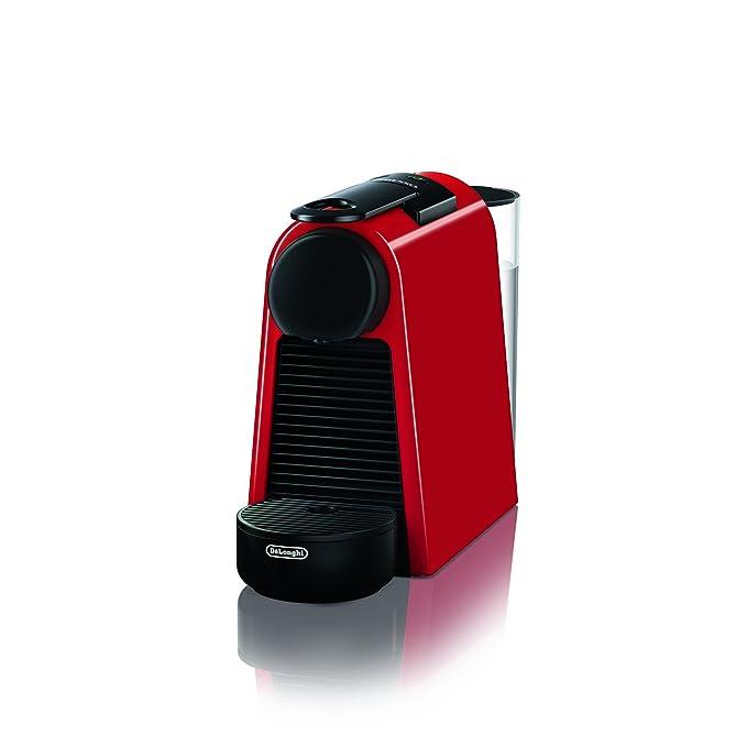 74 opinioni per De'Longhi EN 85.R Macchine del Caffe Essenza Mini Nespresso, 1370 watt, Rosso