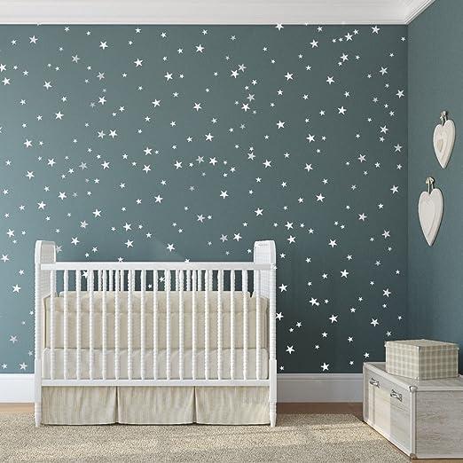 jusqu\'? 161?mixtes Taille ?toiles Stickers muraux Autocollant Kid Art  Chambre d\'enfant D?coration chambre ? coucher en vinyle - 161 Mixed Size  Star - ...