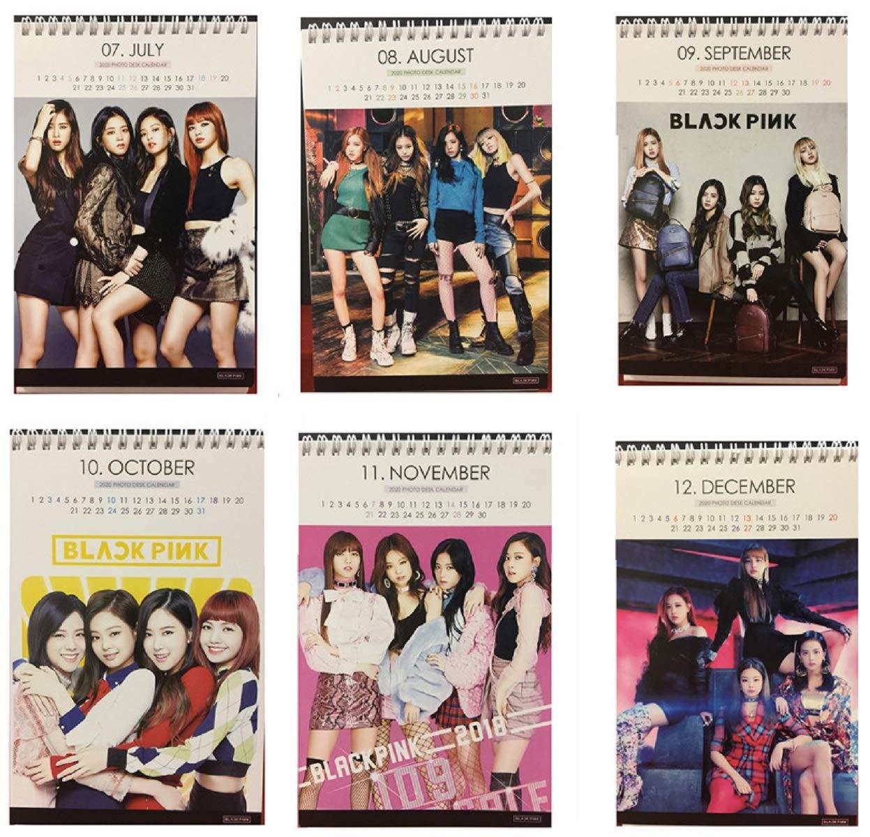 cac97f855b5d Amazon.com   Kpop Blackpink 2019   2020 Photo Desk Calendar with Photo Card  (3pcs)   Office Products