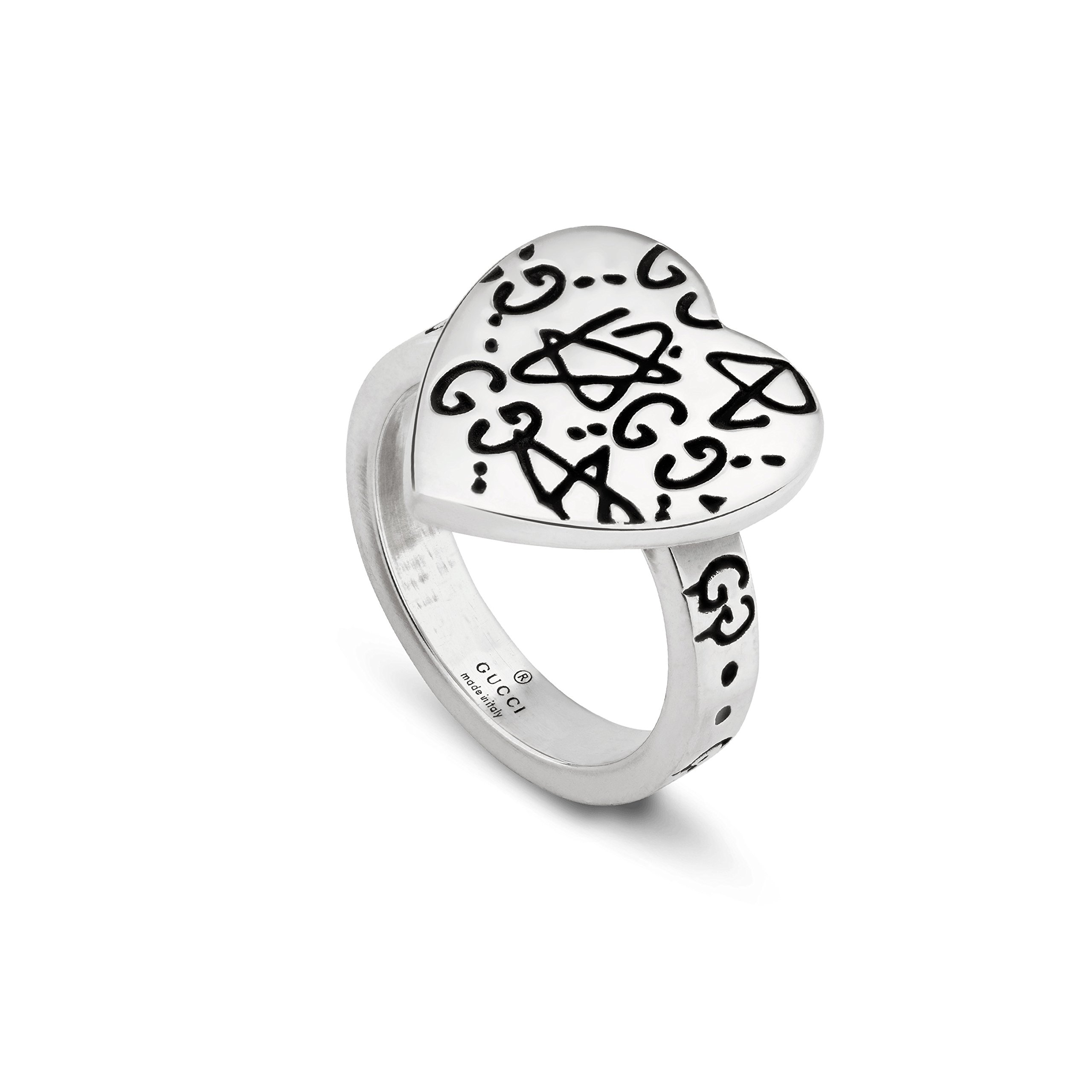 Gucci Silver Ring Ghost 6(USA) N(UK) YBC457229001013