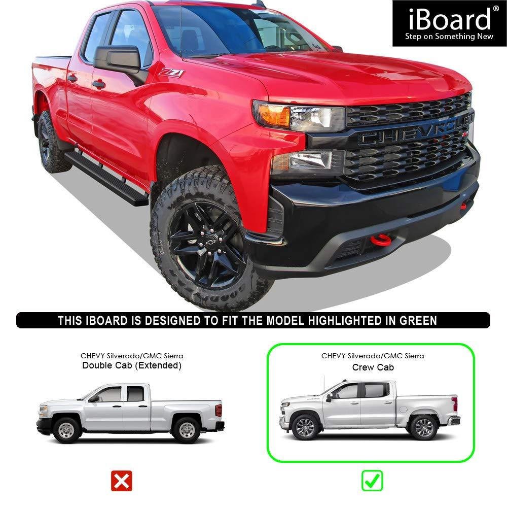 Amazon.com: APS iBoard - Estribos para Chevrolet/GMC ...