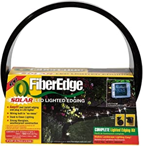 FiberEdge - Solar LED Lighted Fiberglass Edging