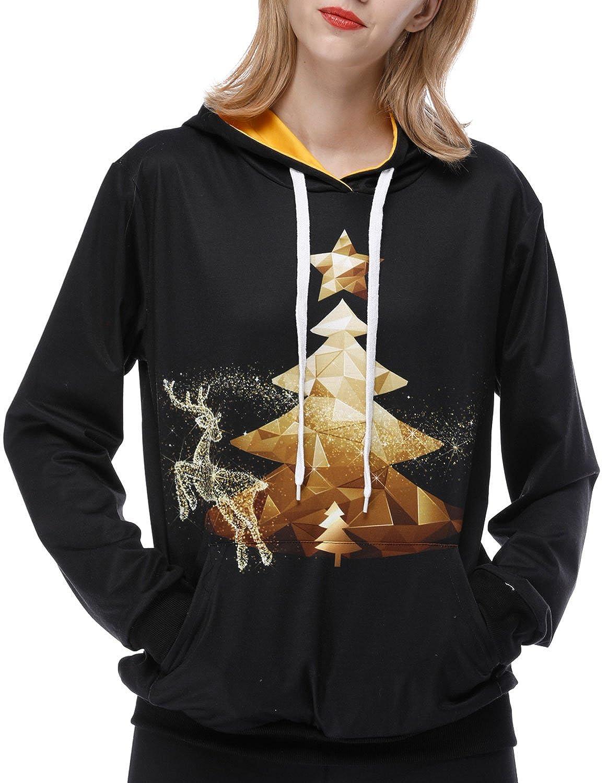 U LOOK UGLY TODAY Christmas 3D Print Sweatshirt Pullover Hoodies
