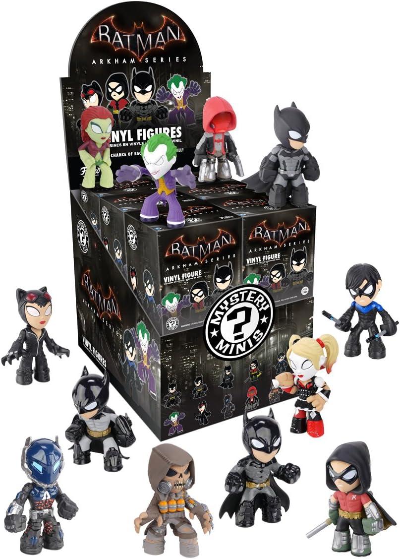 Batman Arkham Mystery Minis Blind Box Vinyl Figure - Una figura: Amazon.es: Juguetes y juegos