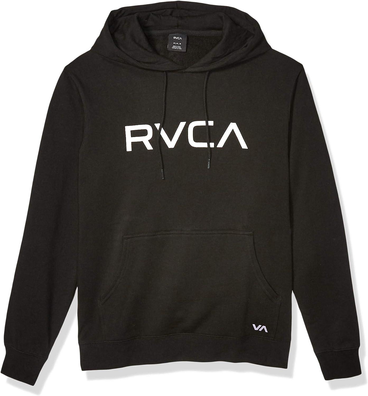 RVCA Mens Big Hooded Sweatshirt