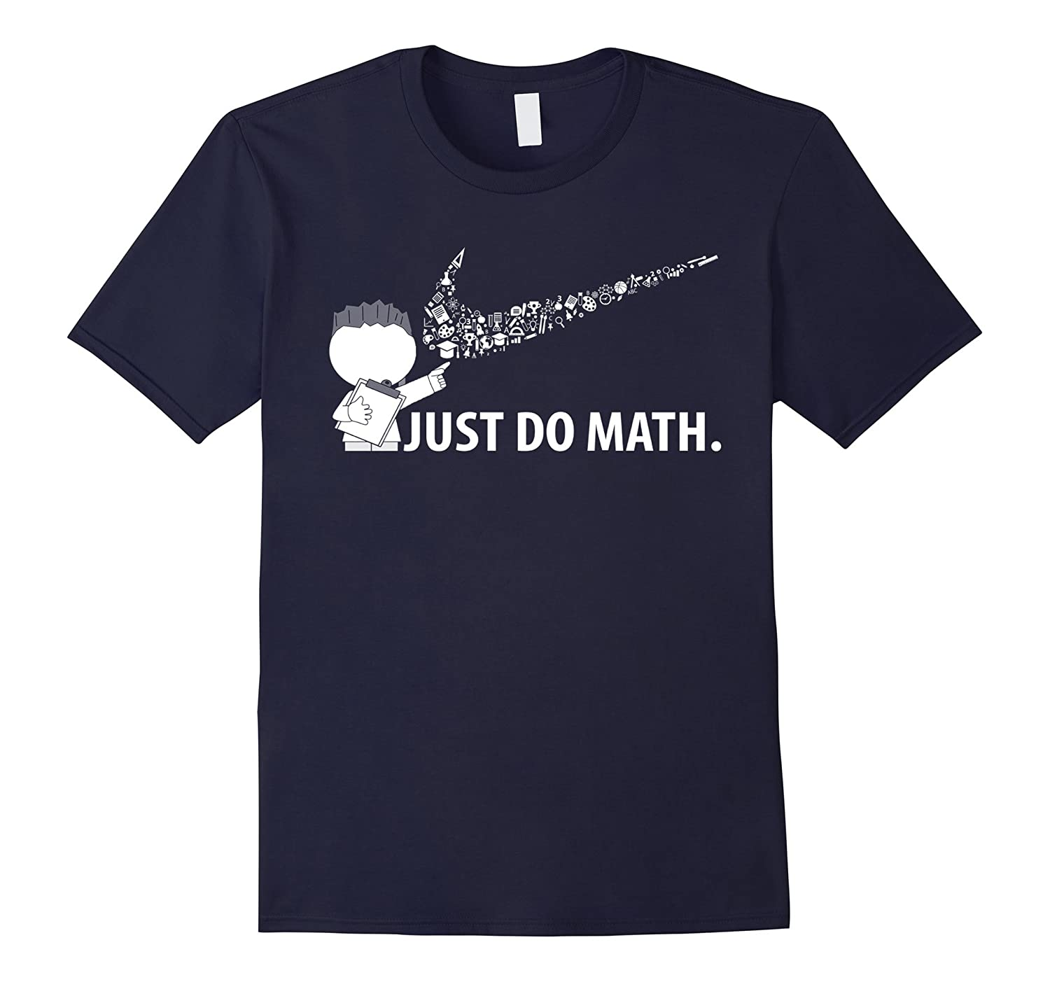 Just Do Math Shirt Algebra Math Teacher Student Shirt-PL