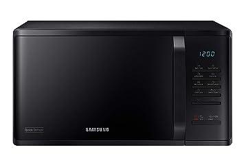 Samsung - Microondas Quick Defrost con descongelación rápida, 23 ...