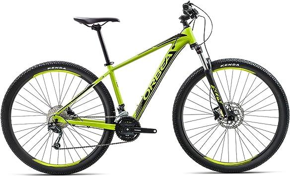 Orbea MX 40 L 29 pulgadas bicicleta de montaña 9 velocidades Cilindro de Mountain Bike freno adultos aluminio, I207, color verde, tamaño talla única: Amazon.es: Deportes y aire libre