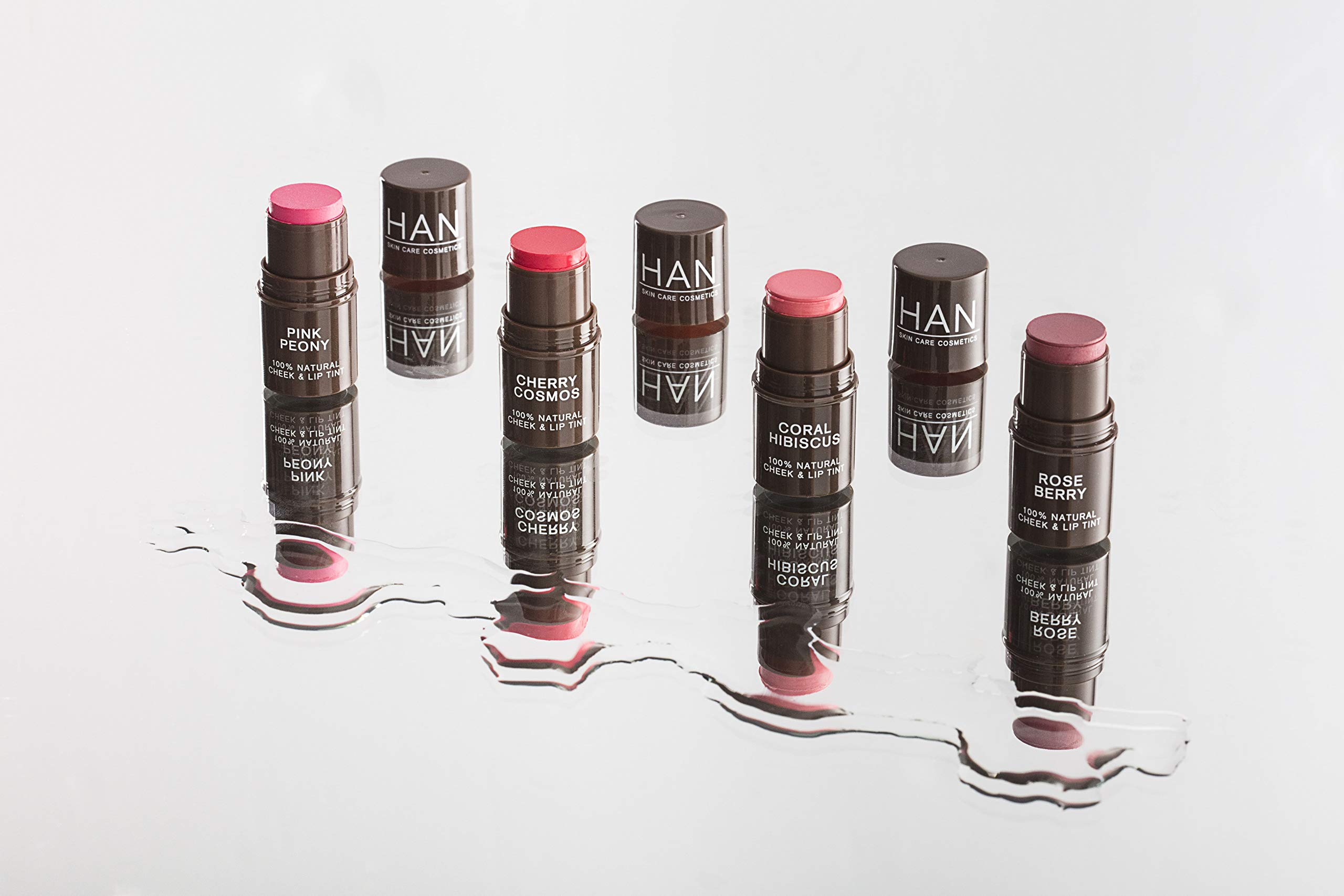 HAN Skin Care Cosmetics Natural Cheek and Lip Tint, Rose Berry by HAN (Image #5)