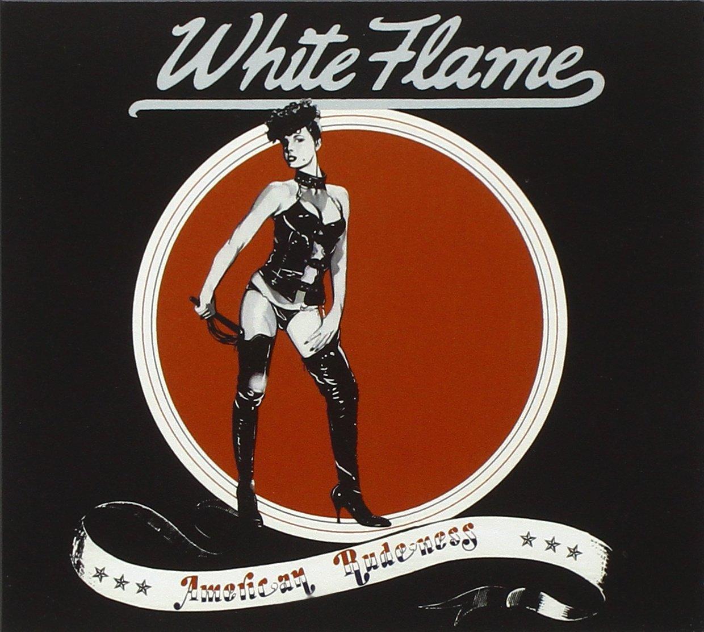 CD : White Flame - American Rudeness (CD)