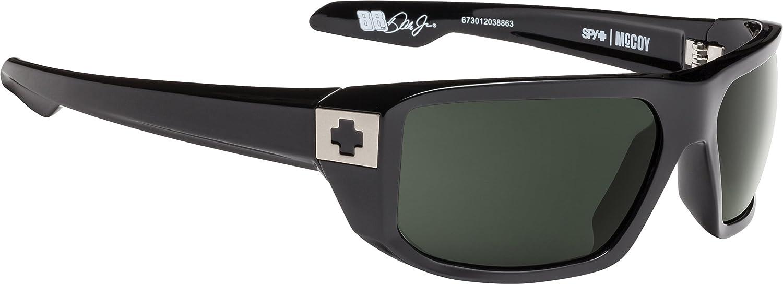 63 mm Spy Optic Mens Mccoy Rectangular Sunglasses
