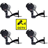 Digicharge® Cámara Seguridad Falsa Interior Exterior Calidad CCTV