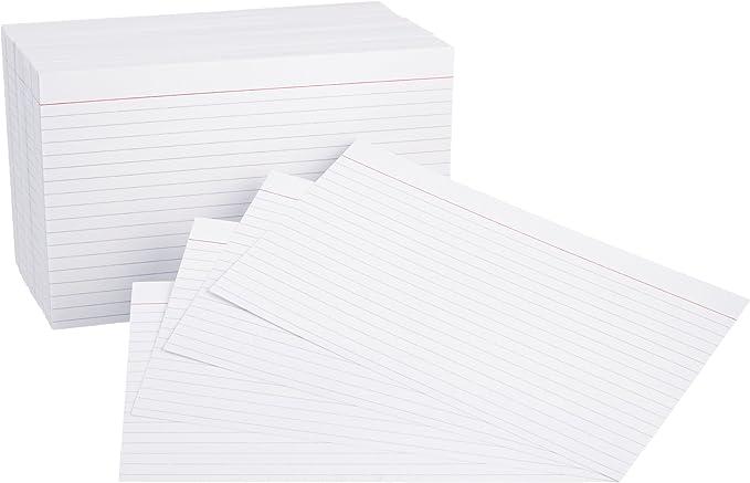 6 1//4 x 2 5//8 Flat Card Pack of 500