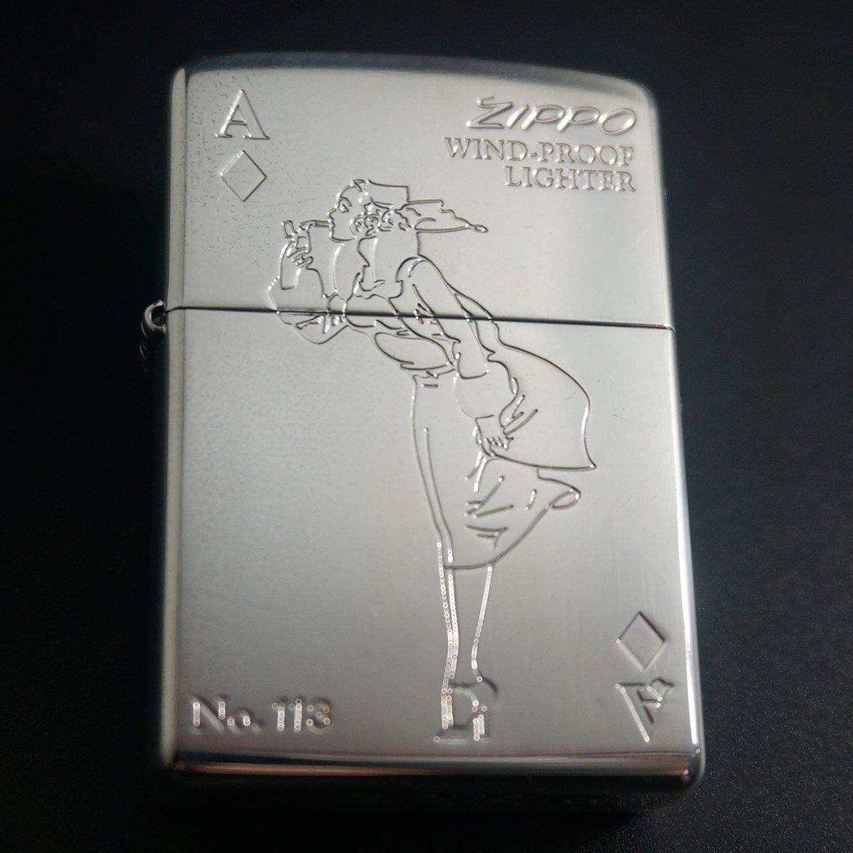 zippo WINDY ダイヤのエース 2003年製造 B076HNPD4X