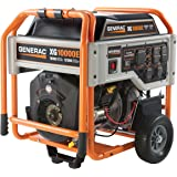 Generac 5802, 10000 Running Watts/12500 Starting Watts, Gas Powered Portable Generator