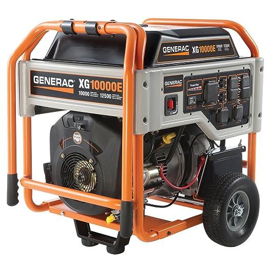 Generac xg6500 410 CC ohvi Gas Generador portátil Que Funciona con ...