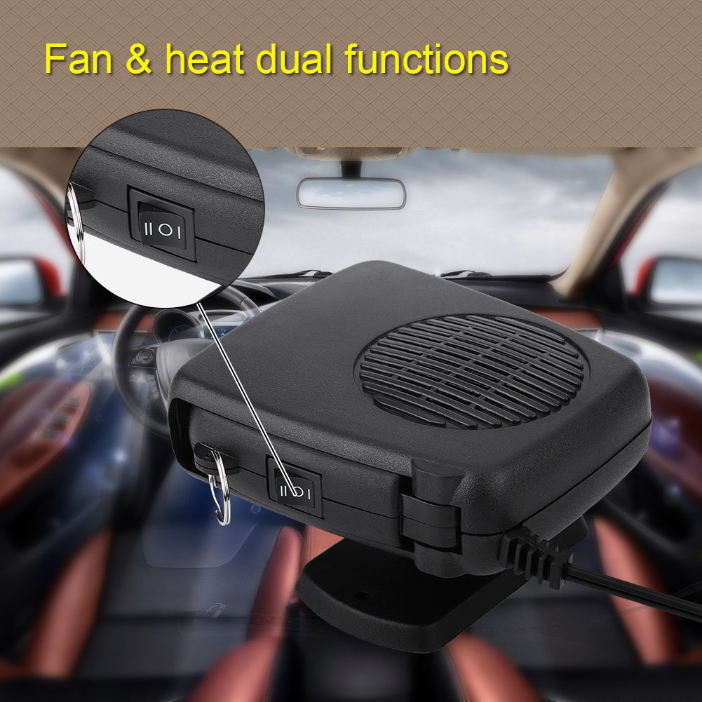 12V 150W 2 in 1 Car Vehicle Heater Heating Cool Fan Windscreen Demister Defroster Car Defroster Windshield Defroster