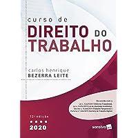Curso De Direito Do Trabalho - 2020 - 12ª Edição