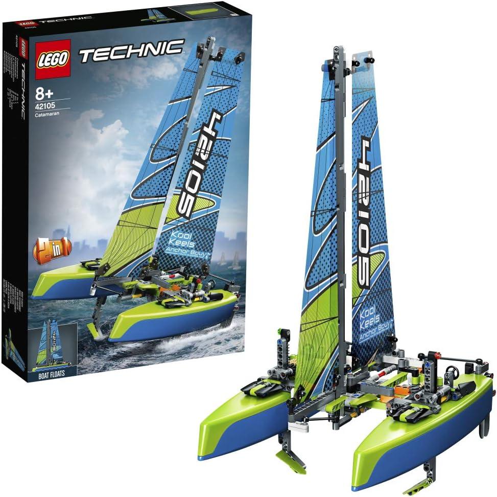 レゴ(LEGO) テクニック カタマランヨット 42105