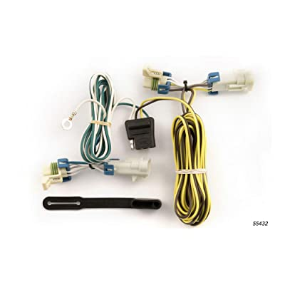 CURT 55432 Vehicle-Side Custom 4-Pin Trailer Wiring Harness for Select Chevrolet Cobalt, Chevy HHR, Pontiac G5, Pontiac Pursuit: Automotive