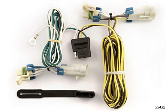 cobalt wiring harness amazon com curt 55432 vehicle side custom 4 pin trailer wiring  curt 55432 vehicle side custom 4 pin