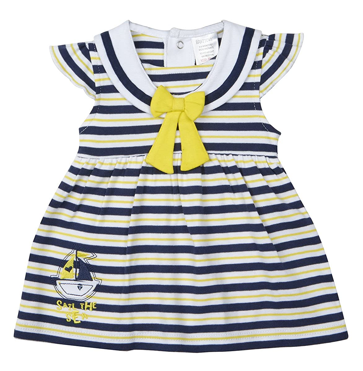 BABYPREM Baby Girls Clothes Premature Tiny Nautical Dress Dresses 1.5-7.5lb