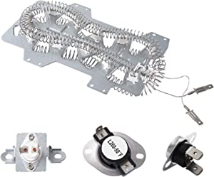 DC47-00019A & DC47-00018A & DC96-00887A Dryer Heating Element And Thermostat Replacement Kit For Samsung Dryer