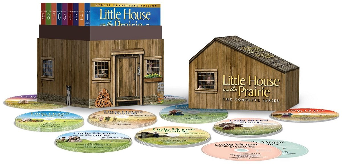 Amazon Com Little House On The Prairie The Complete Series Deluxe Remastered Edition In Collectible House Packaging Michael Landon Melissa Gilbert Victor French Melissa Sue Anderson Sidney Greenbush Karen Grassle Michael Landon