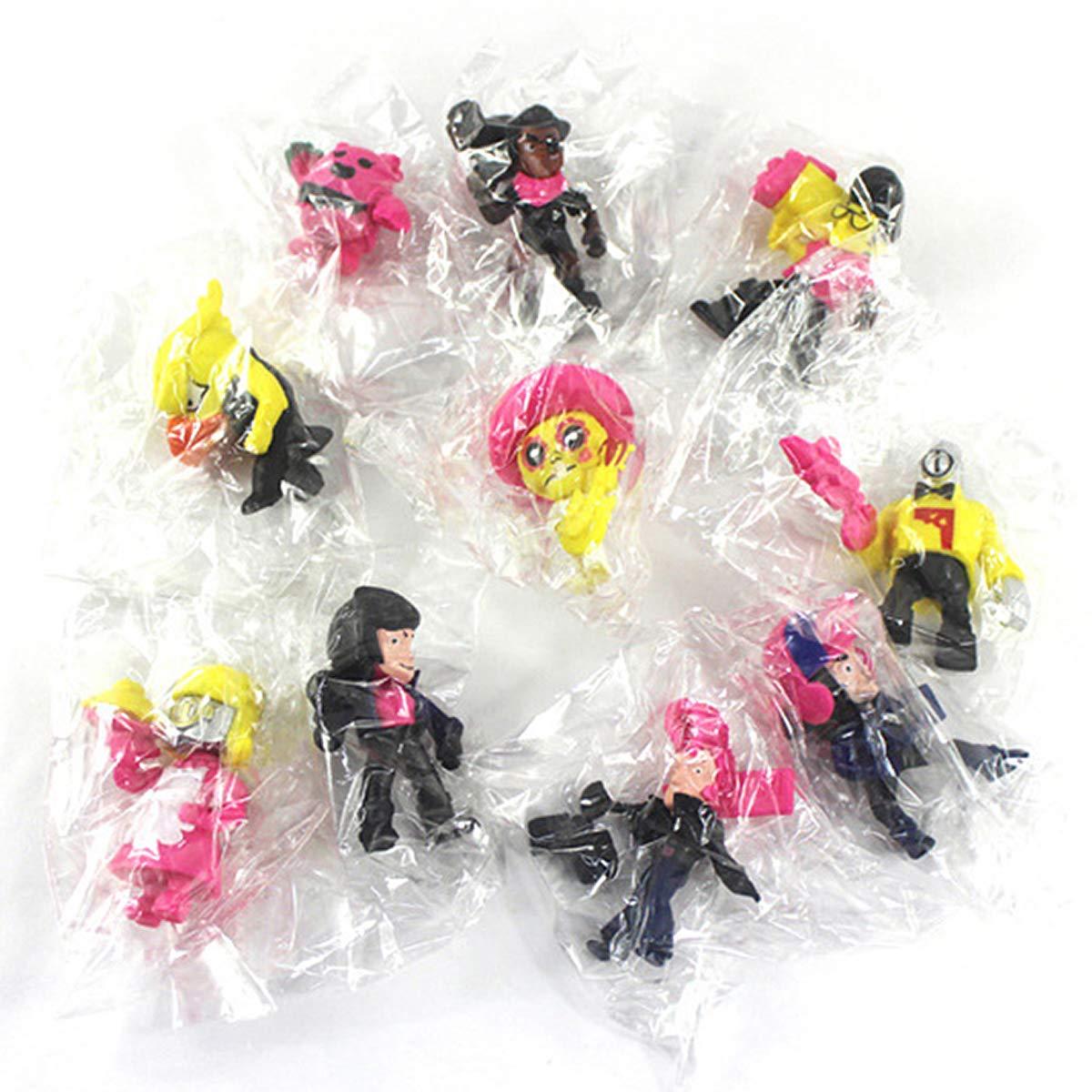 10 PCS LuLezon Brawl Stars Gioco Action Figure Giocattoli Giocattoli Modello in PVC