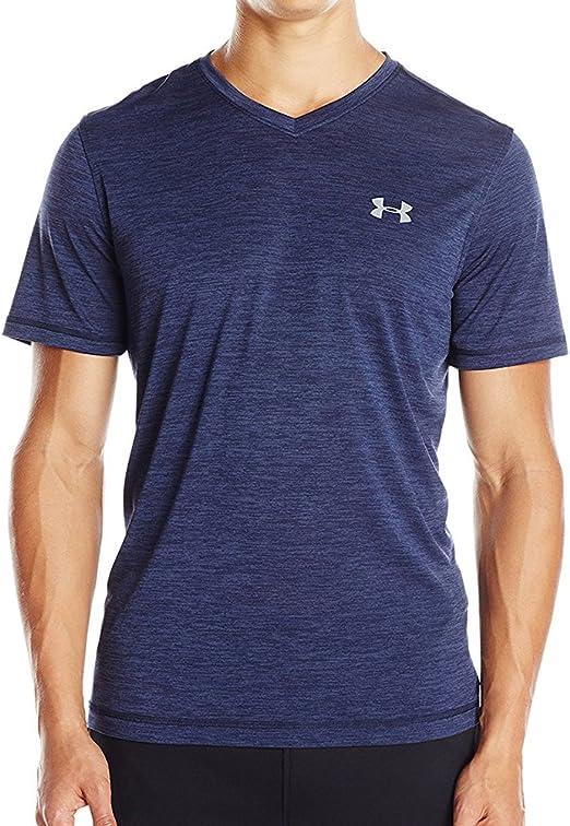 Under Armour Men/'s UA Tech T-Shirt Coral//Steel S