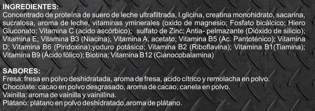 Whey Protein 100% 2kg profesional, proteina de suero, sabor fresa: Amazon.es: Salud y cuidado personal