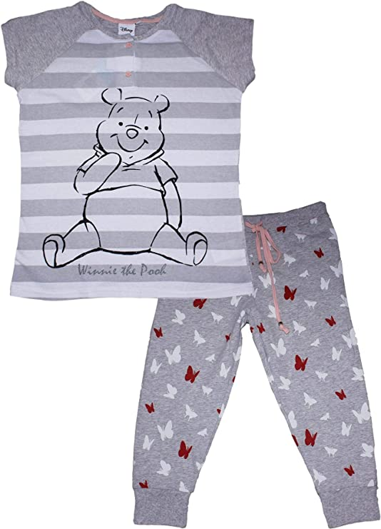 Pijama Rosa y Blanco de Rayas Winnie The Pooh Disney