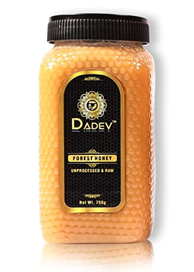 DADEV Unprocessed and Raw Forest Honey-750gm