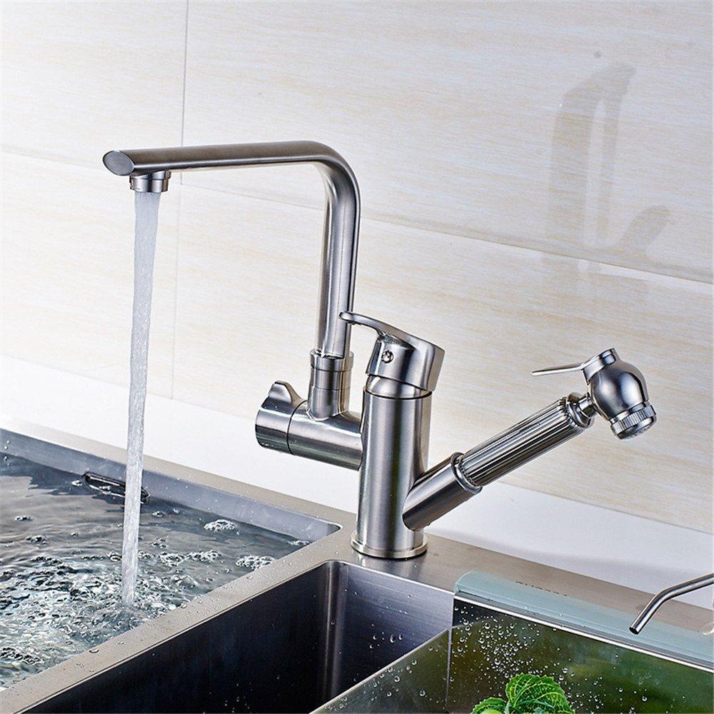 Decorry Alle Küchen Kupfer Küchenarmatur Drawable Mischwasserbecken Wannenhahn Zeichnen Niedrige