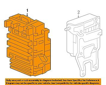 amazon com genuine honda 38200 snf a05 fuse box assembly automotive
