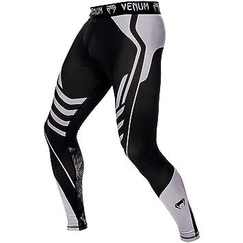 Venum Technical Legging de Compression Homme Noir Gris FR   XS (Taille  Fabricant   520dd420e82