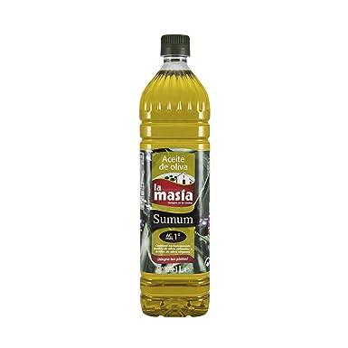 La masía - Aceite de oliva sumum - 1 L - [pack de 5]
