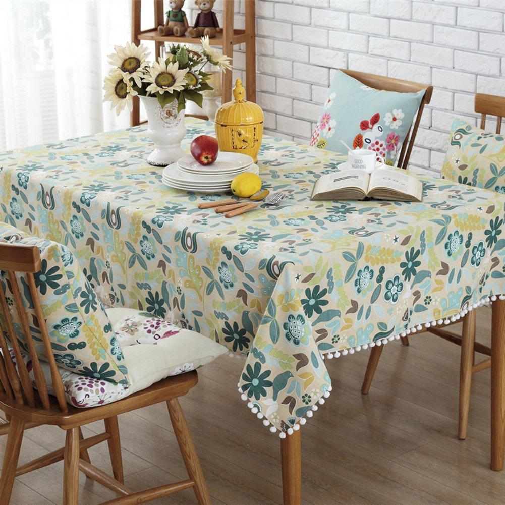 Fester länglicher tisch stoff Tischdecken drucken Küchentisch tuch Tischdecke für esszimmer Klare kunststoff-tischdecken-I 140x220cm(55x87inch) B0786ZVQPM TischdeckenSchönes Design | Qualität und Quantität garantiert