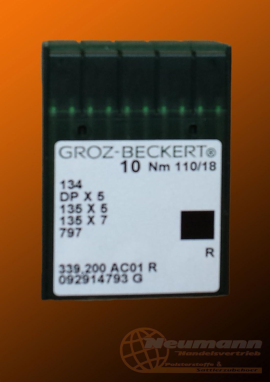 10 Nähmaschinennadeln Maschinennadeln Universalnadeln GROZ-BECKERT Nm 150
