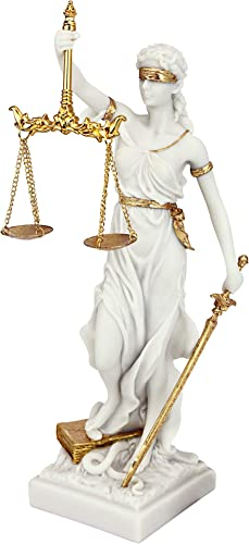 Design Toscano Themis Blind Lady of Justice Statue Lawyer Gift