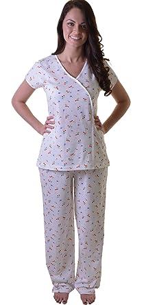 8b46141a03 Elegant Oriental Style Cotton PJ Pyjama Set with Cherry and Strawberry Print