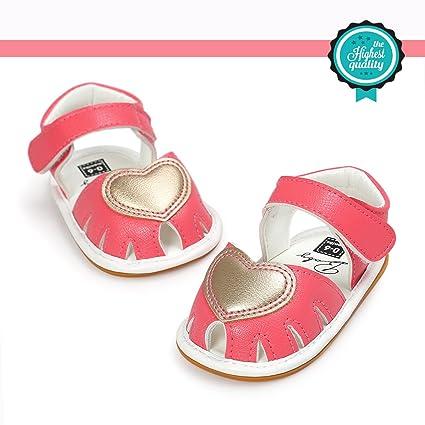 Zapatos de Bebé, Morbuy Zapatos Bebe Primeros Pasos Verano Recién nacido 0-18 Mes Niñas Bebé Casual Verano Zapatos Suela Blanda Zapatillas ...