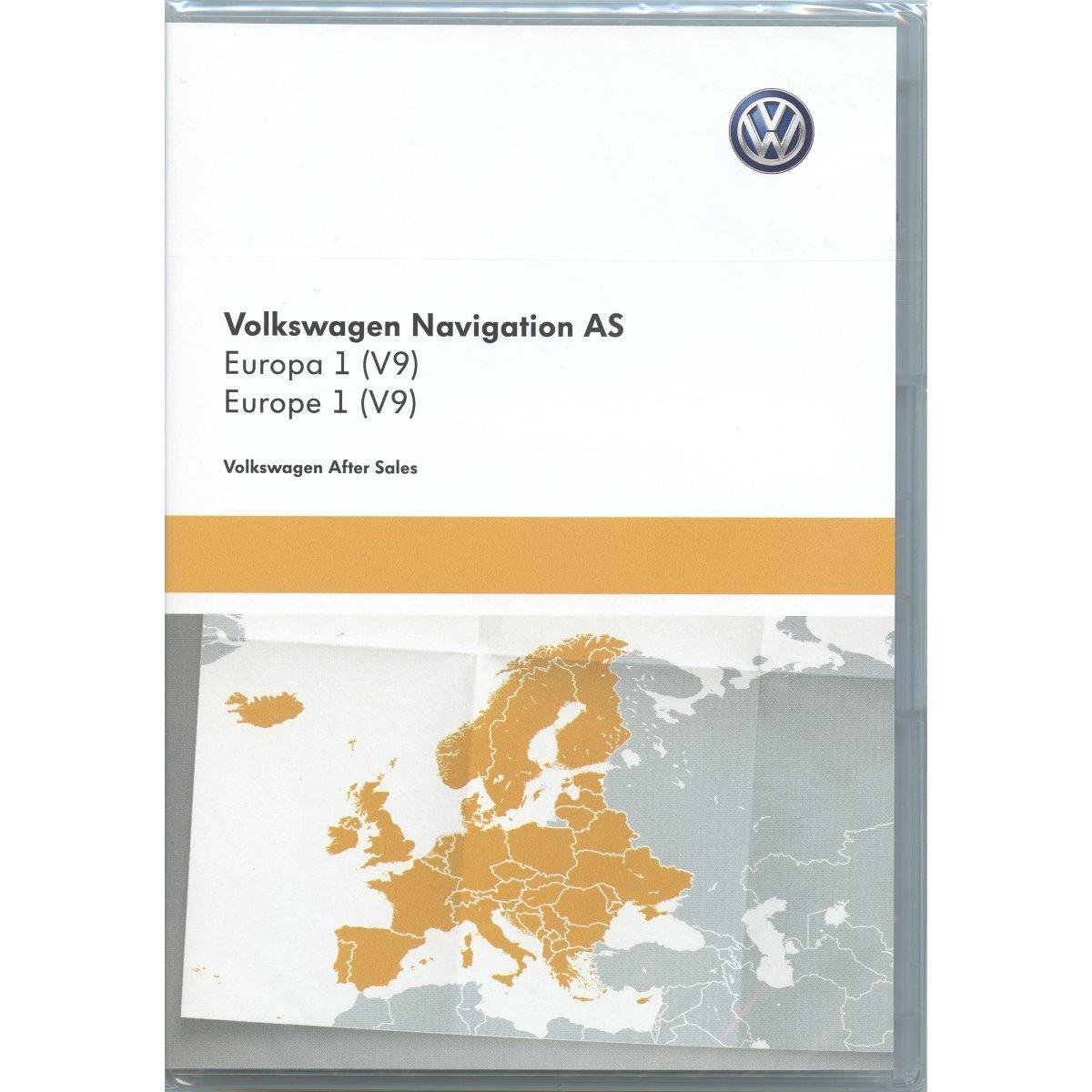 5NA919866 SD Karte Europa West V9 Navigationssystem Update Original Navi Kartendaten *** Discover Media (System AS) *** Unbekannt