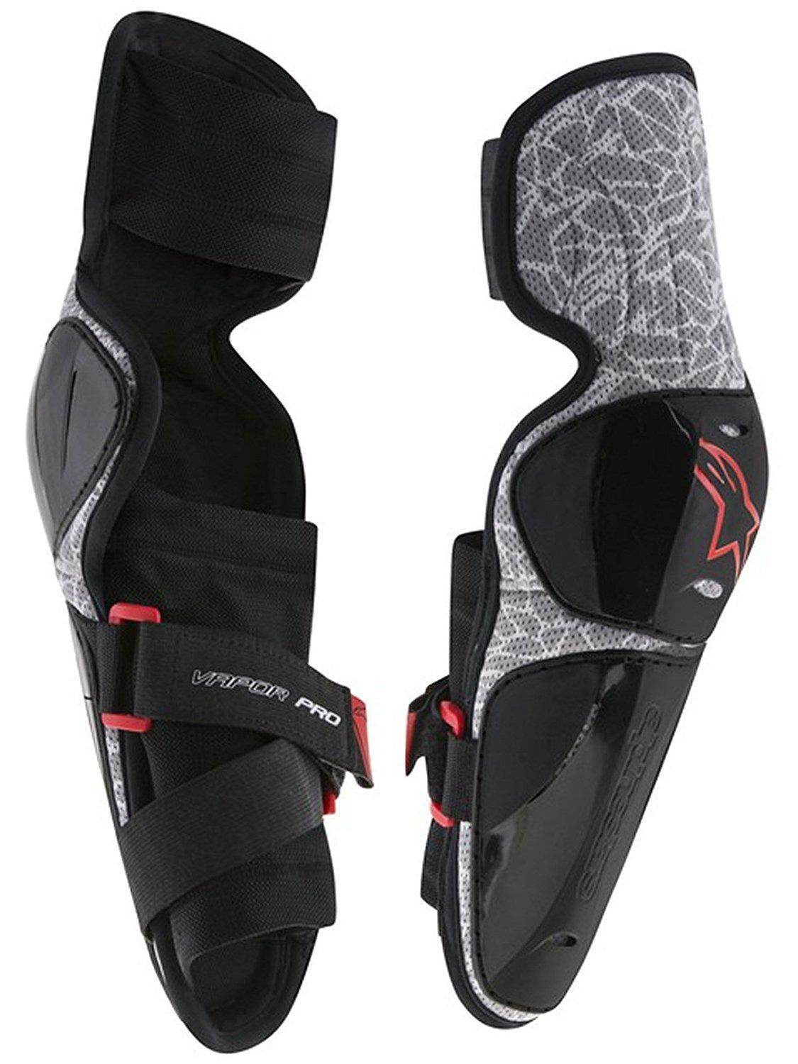 Alpinestars Vapor Pro Elbow Protector Guard, Adult - Large/X-Large - Black Gray