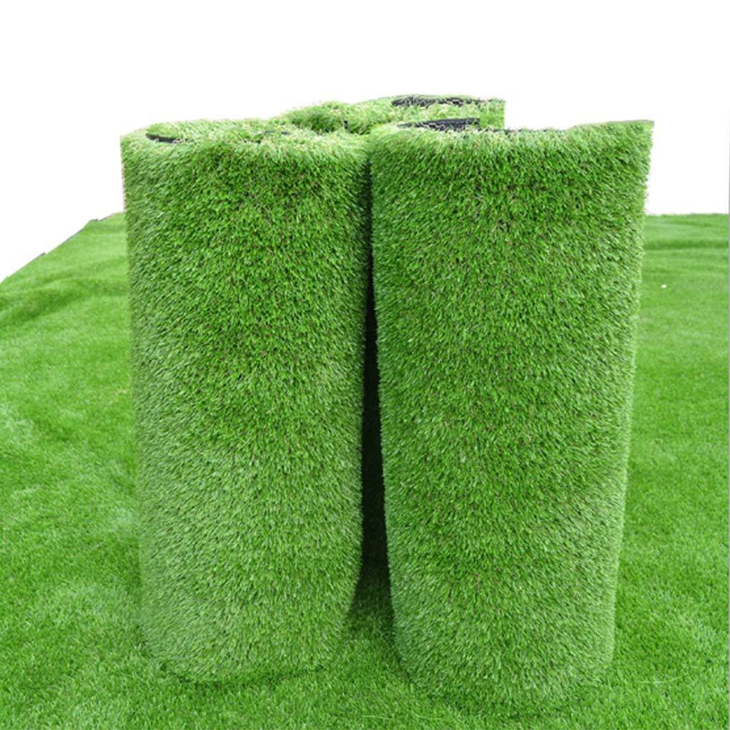 YNFNGXU 20 mm人工芝1 m幅長さ高密度ホリデー芝生を選択|自然にリアルな天文庭園の芝生 (サイズ さいず : 4x1m) B07RLM4NKB  4x1m