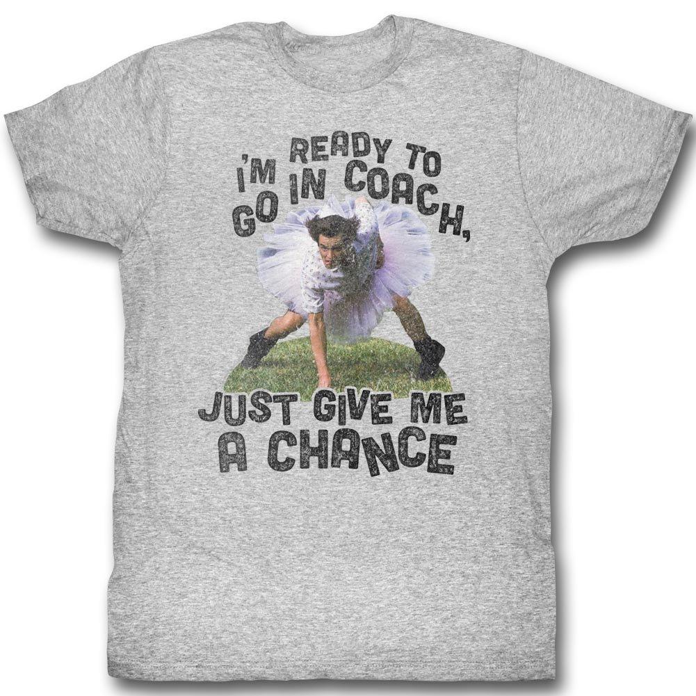 Ace Ventura: Pet Detective Comedy Movie I'm Ready Coach Adult T-Shirt Tee