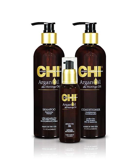 CHI Argan Oil plus Moringa Oil Luxe Trio Kit